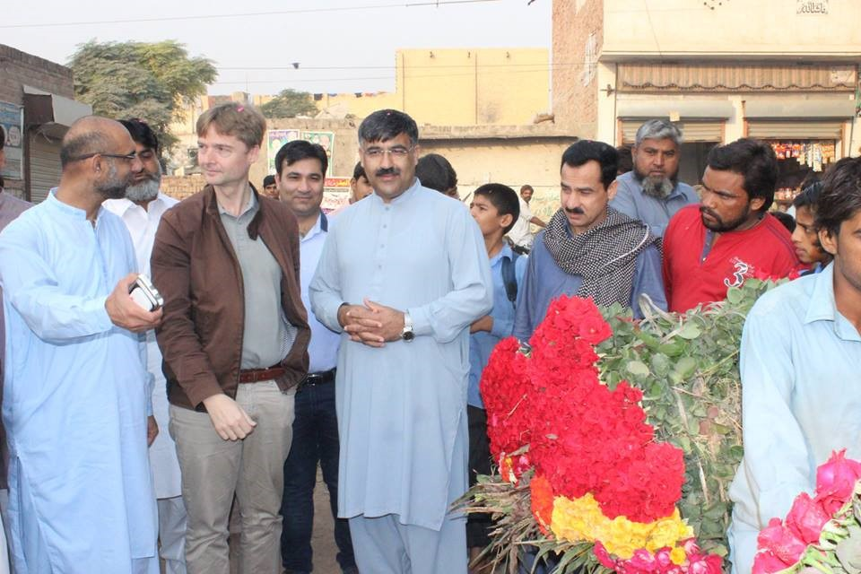 Exposure Visit to Horticulture & Rose Market, Lahore