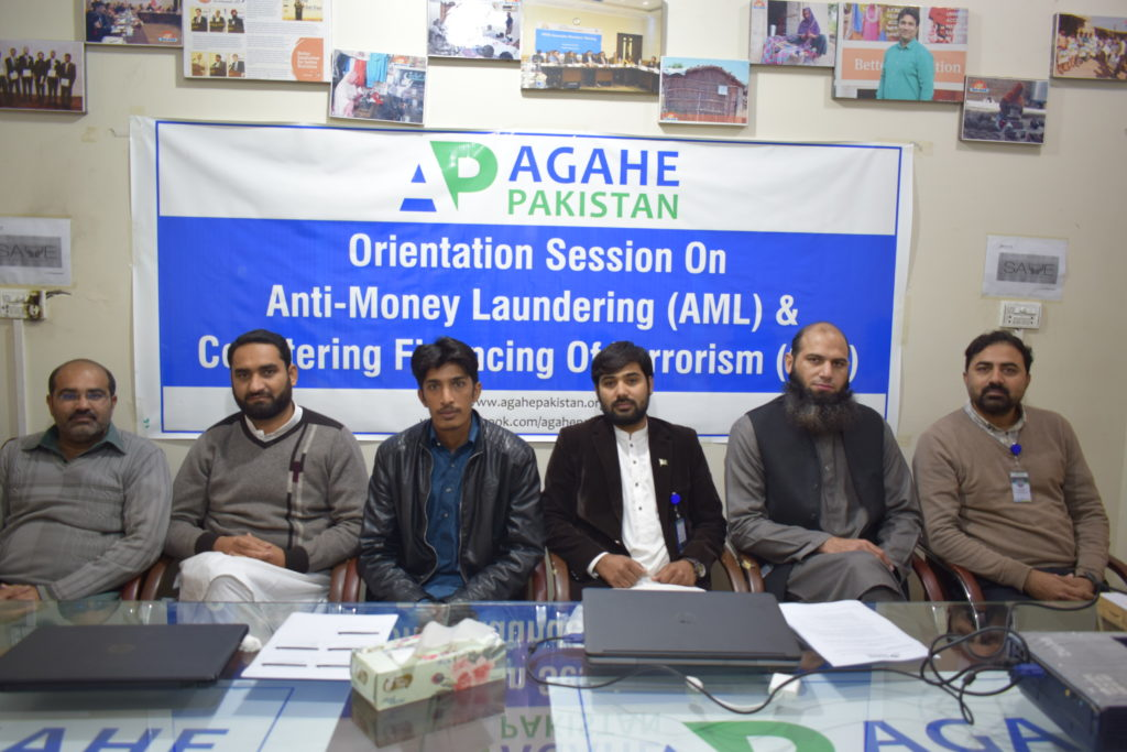 Orientation Session on AML & CFT