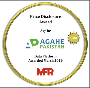 Price Disclosure Award-Gold Category
